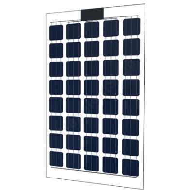 Almaden M40 üveg-üveg napelem modul