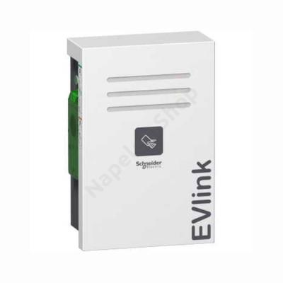 EVLink Fali elektromos autótöltő állomás 1x T2 - 22kW  RFID