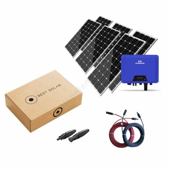 9,52kWp Best SolarD H-line napelem szett Jinko Solar napelemmel és háromfázisú Hypontech inverterrel